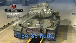 T-34-85 Rudy - World of Tanks Blitz