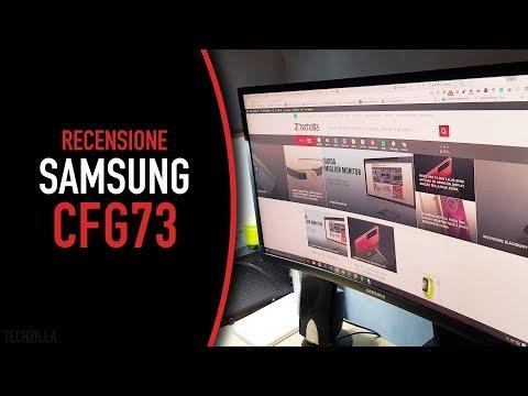 Recensione Samsung Monitor Curvo da Gaming CFG73 (C24FG73)