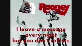 Rooney- Are You Afraid? (lyrics)