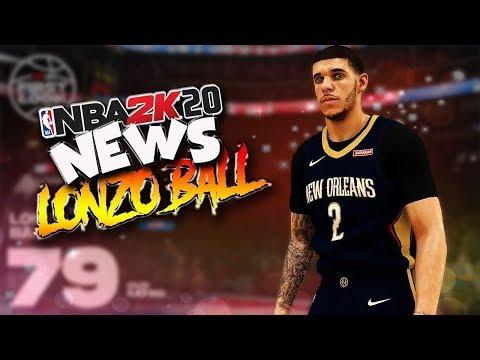 LONZO BALL FACE SCAN IN NBA 2K20!