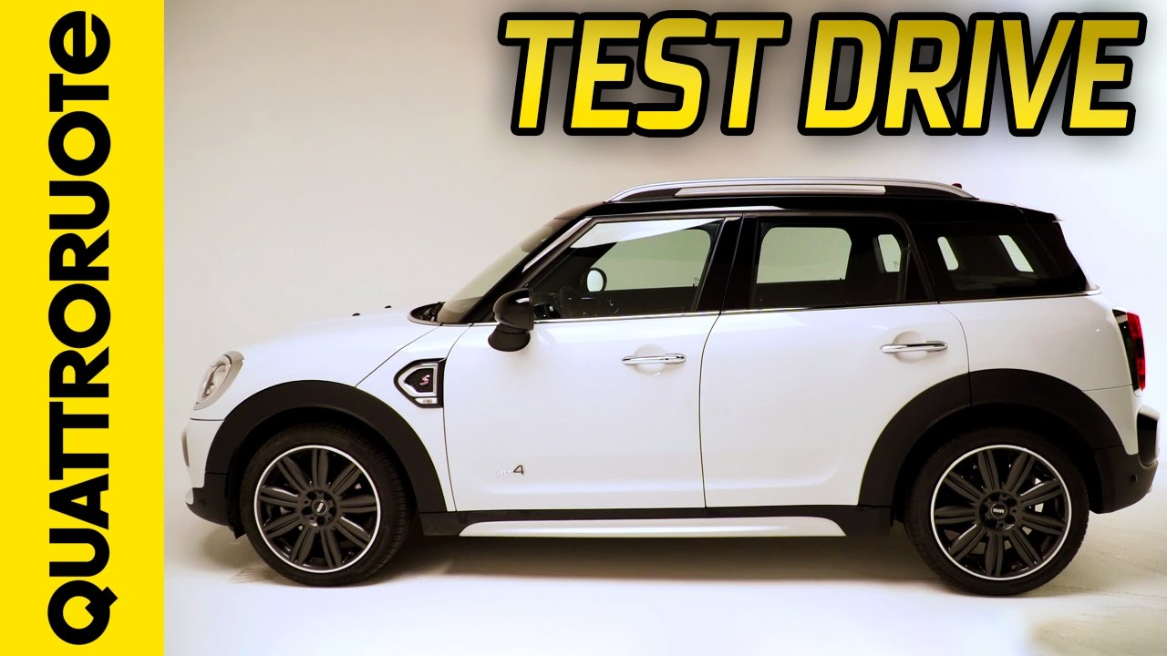 Nuova Mini Countryman 2017 Il Test Drive Di Quattroruote Youtube