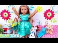 Baby Doll Dress up Toys Play Doll Clothes in Bedroom!