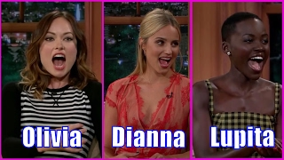 6 Females - Guests Who Appeared Only Once #3 - Olivia Wilde, Dianna Agron, Lupita Nyango & More