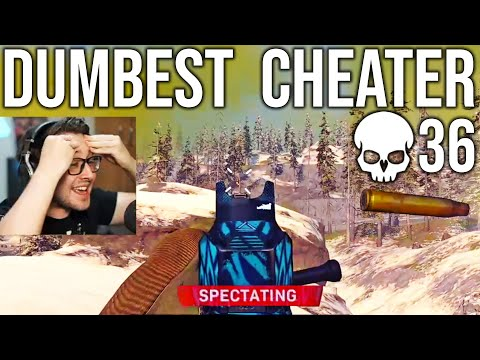We Found The DUMBEST Cheater In COD Warzone