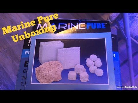 Marine Pure Biofilter Media Unboxing!!