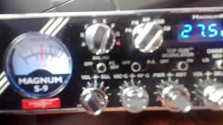 cb radio magnum s9 astatic road devil qso verona