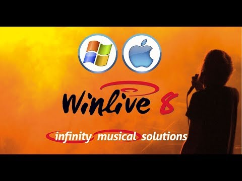 Winlive Pro Synth 8 - Sounds & functions ( only synth edition )