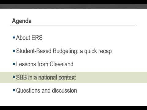Student-Based Budgeting: Is it Right for Your District Right Now?
