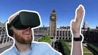 LONDON TOUR GUIDE IN VIRTUAL REALITY!! Google Earth VR Oculus Rift & Oculus Touch - Virtual Real