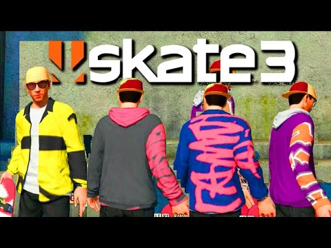 Skate 3 - All 3 New & Old Graphics Glitch! 2016 Tutorial (After Skate EA Down)
