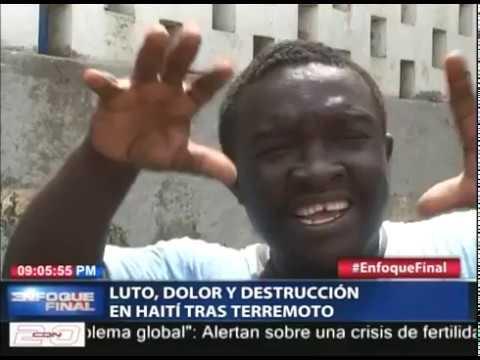 Luto, dolor y destrucción en Haití tras terremoto magnitud 5.9 grados del pasado sábado