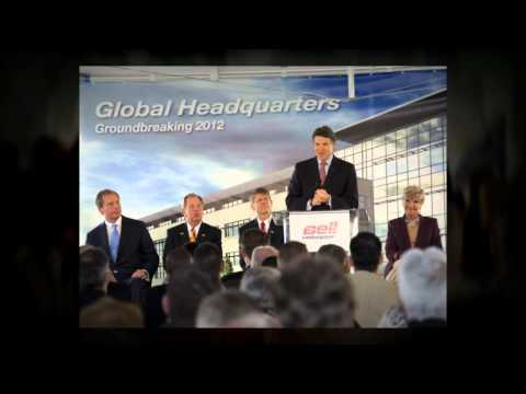 Bell Helicopter Groundbreaking Ceremony