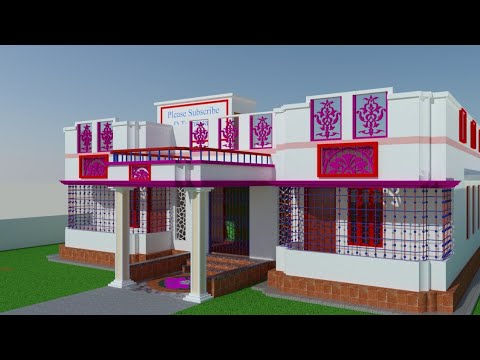 beautiful house design 4bed room