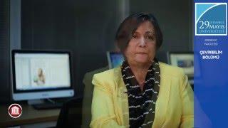 Çeviribilim Bölümü Prof. Dr. Işın Bengi Öner