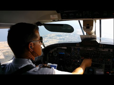 Cockpit View : Beechcraft 1900D / Aix en Provence - Marseille