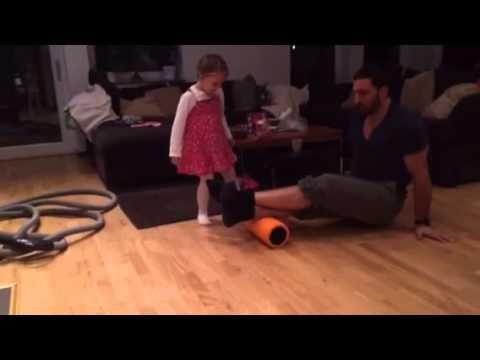 Foam roller vader