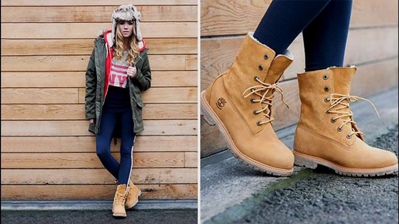 Ideas Outfits con botas Timberland - YouTube