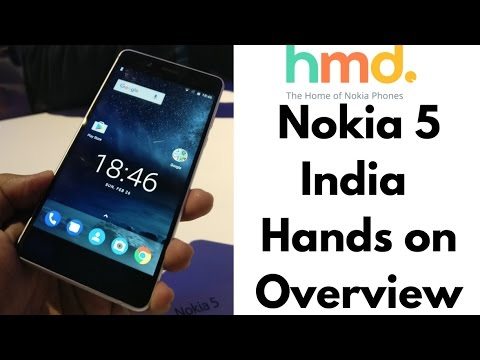 Nokia 5 Live Hands On India First | Gadgets To Use