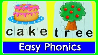 Learn To Read & Spell With 4 Letter Sight Words! Easy Abc 4 Letter Word Phonics Teaches Reading