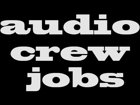 #026 - Live sound & production jobs - Live Sound Basics