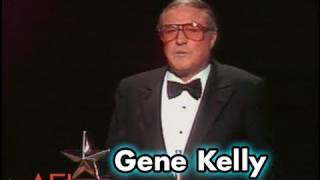 Gene Kelly Accepts the AFI Life Achievement Award in 1985
