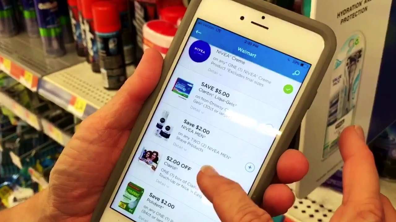 How To Get Cash Back With The Coupons Com App Youtube