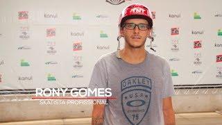 ONG Social Skate visita Rony Gomes