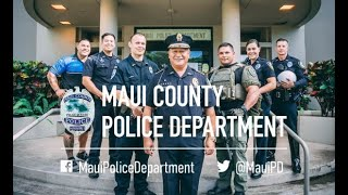 "A ""Day in the Life"" with the Maui Police Department..."