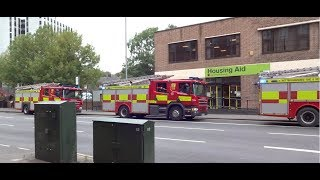 Nottingham Fire Brigade in action #2