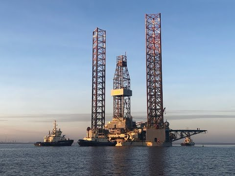 ENSCO-72 Jack Up Has Sailed – Drilling of the Wick well during December 2018.