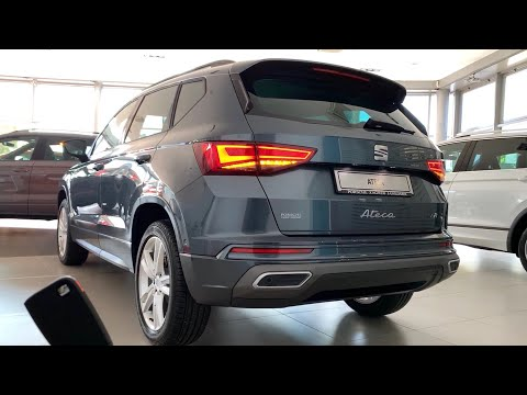 New SEAT ATECA 2021 (Facelift) - FULL in-depth REVIEW (exterior, interior & infotainment) FR 150 HP