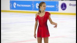 Анастасия Костюк, ПП (Anastasia Kostyuk FS), Открытое Первенство Москвы 2018
