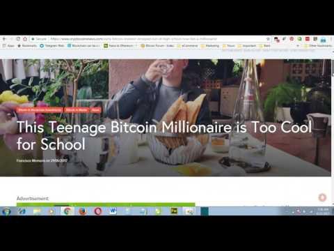 18 Years Old Erik Finman Owns 403 Bitcoin