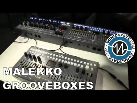 NAMM 2017: Malekko and Industrial Music Electronics Groovebox Collaboration