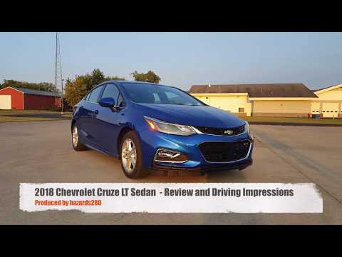2018 Chevrolet Cruze LT  - Review and Driving Impressions
