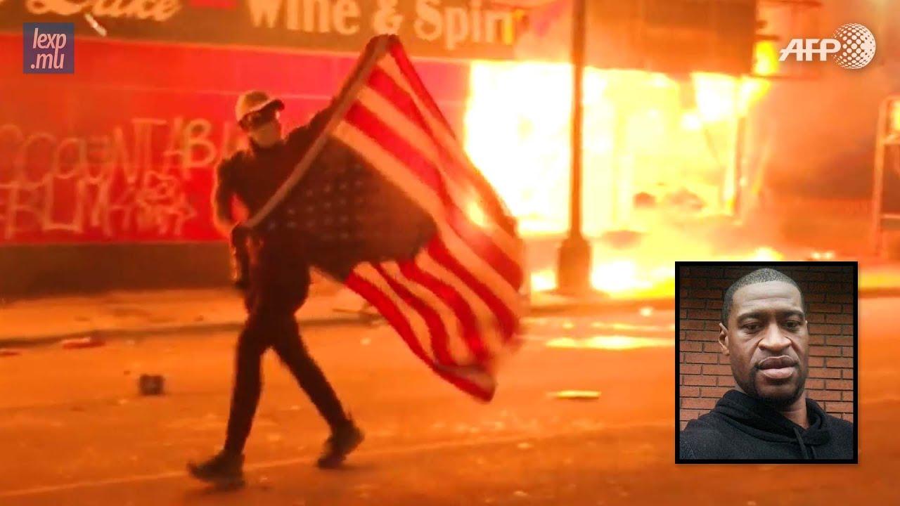Décès de George Floyd: manifestations et émeutes aux USA
