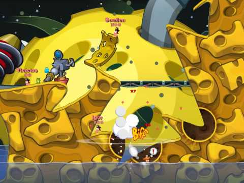 Game play-Worms Reloaded  