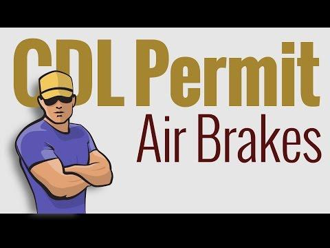 CDL Permit: Written Test–AIR BRAKES