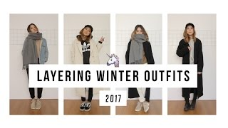 Layering Winter Outfits | clothesnbits