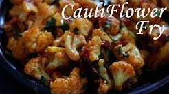 Cauliflower poriyal in tamil | Poriyal recipe in tamil