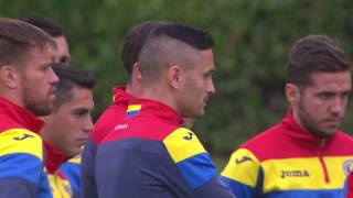 Romania training in Lyon - 18.06