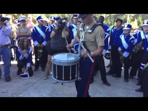 Fleet Week San Francisco 2015: Snare Drum Battle (Benicia vs Marines)