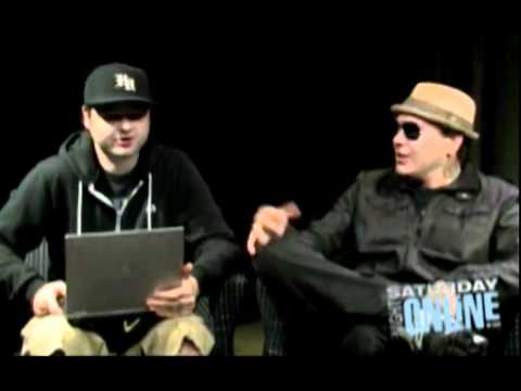 Charlie Scene & J3T (Hollywood Undead). Saturday Night Online