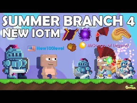 LEGENDARY BRANCH 4 ITEMS + IOTM + NEW ITEMS!! - GrowTopia