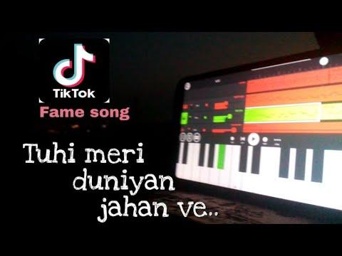 Tuhi Meri Duniya Jahan Be ( Sohnea ) ( Famous TikTok Song ) | Instrumental Cover | Millind Gaba