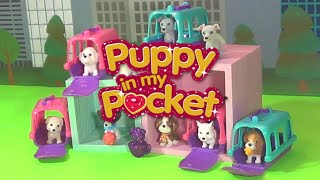 Puppy in My Pocket Puppy Carrier Series 2 Blind Box Baskets! Super Cute Puppies & ULTRA RARE PIXIE!