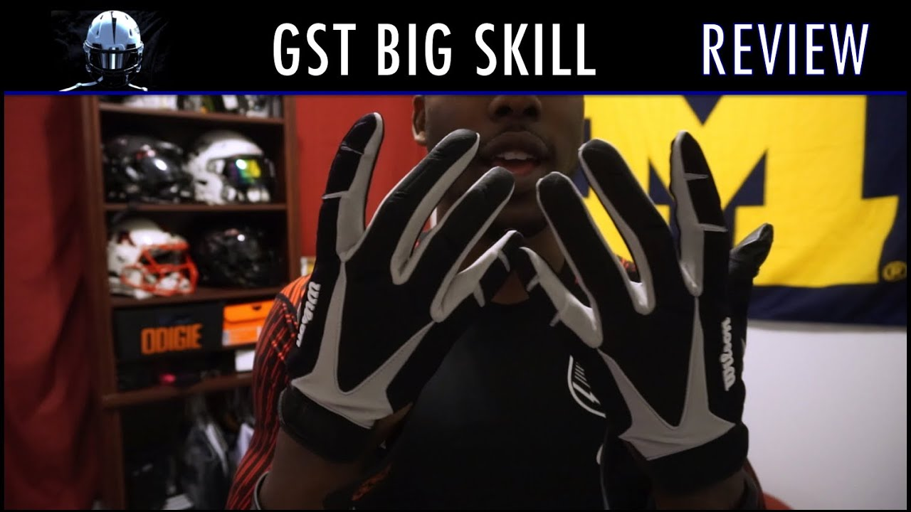 f8e7d41b12a Wilson GST Big Skill Glove Review - Ep. 235 - YouTube