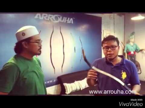 Ar Rouha Archery: 2/5 Turkish Laminated Bow Review by Mr Mohd Nasrul