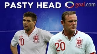 Steven Gerrard on Wayne Rooney's hair: Is that a Cornish Pasty on his head?