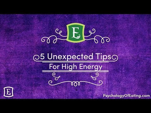5 Unexpected Tips for High Energy Nutrition - with Emily Rosen